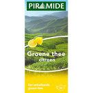 Groene thee met citroen van Piramide