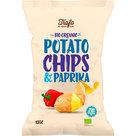 Biologische paprika chips