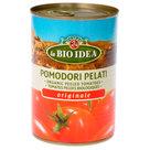 Biologische gepelde tomaten