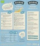 Biobim Rijstpapje v.a. 4 maand 200 gram (glutenvrij en biologisch)_15