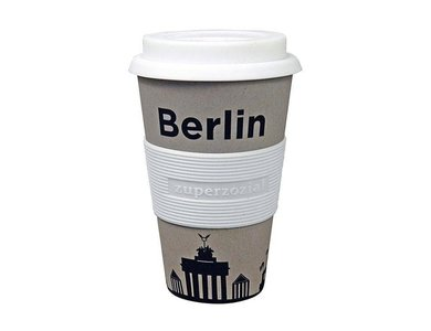 Bamboe Travel Mug Berlin (100% biologisch afbreekbaar)