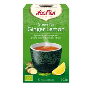 Yogi Tea Green Tea Ginger Lemon 17 zakjes (biologisch)