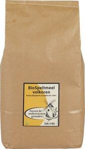 Volkoren Speltmeel 5 kilo (biologisch)