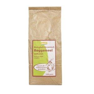 Volkoren Roggemeel 1 kilo (demeter)