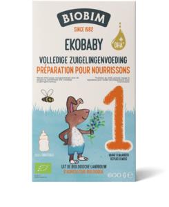 Biobimlac Ekobaby 1 - vanaf de geboorte (biologisch)