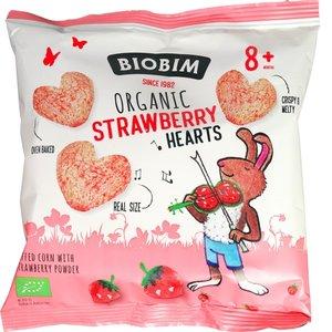 Aardbei Hartjes 8-pack (biologisch)