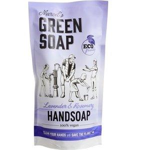 Handzeep Lavendel Navul 500 ml (Marcels Green Soap)