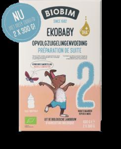 Biobimlac 2 Ekobaby 600 gram(biologisch)