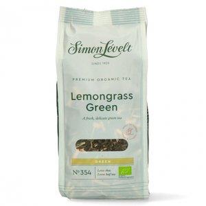 Losse Green Tea Lemongrass (90 gram) (biologisch)