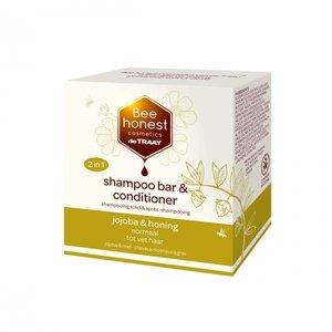 Shampoobar en Conditioner Jojoba Honing 80 gram
