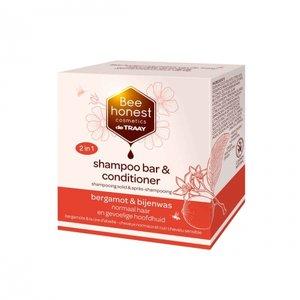 Shampoobar en Conditioner Bergamot Bijenwas 80 gram