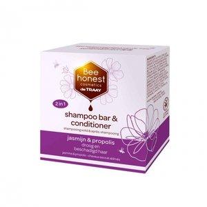 Shampoobar en Conditioner Jasmijn Propolis 80 gram
