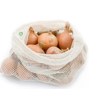Katoenen Zakje voor Groente en Fruit maat L (biologisch)