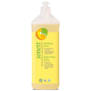 Sonett handzeep Citrus 1 liter navulverpakking