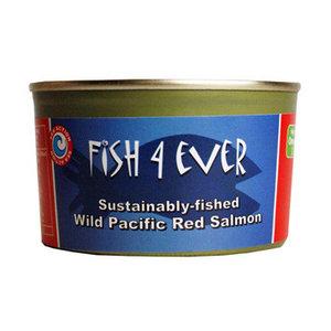 Wilde rode Pacific zalm van Fish4ever