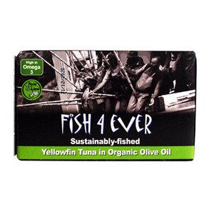 Fish4ever geelvintonijn in olijfolie