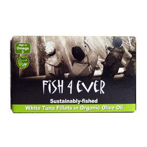Witte tonijn in olijfolie van Fish4ever