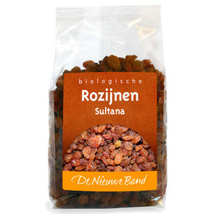 Rozijnen Sultana 500 gram (biologisch)