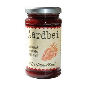Aardbeienjam 225 gram (biologisch)