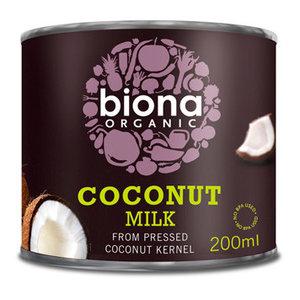 Kokosmelk 200 ml (biologisch)