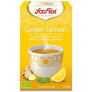 Yogi Tea Ginger Lemon (biologisch)
