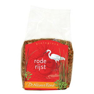 Rode rijst 500 gram (biologisch)