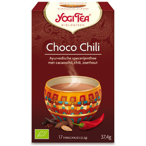 Yogi Tea Choco Chili 28/2/20 (biologisch)