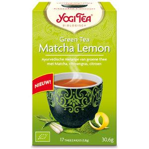 Yogi Tea Matcha Lemon (biologisch)