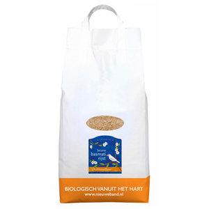 Bruine Basmatirijst 5 kilo Grootverpakking (biologisch)