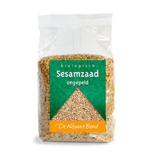 Sesamzaad 500 gram (biologisch)