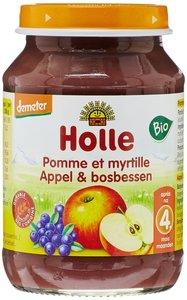 Fruithapje (6x) Appel en Bosbes v.a. 4 maand (biologisch)