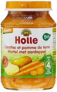 Groentehapje Wortel met Aardappel (6x) v.a. 4 maand (demeter)