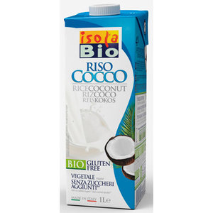 Rijstmelk met Kokos - 1 liter (biologisch)