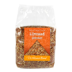 Gebroken Lijnzaad Voordeelverpakking 500 gram (biologisch)