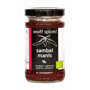 Sambal Manis 110 gram (biologisch)