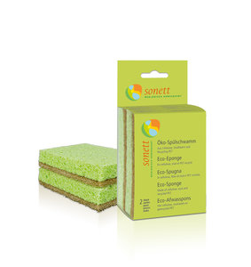 Sonett Eco Afwasspons (2 stuks)