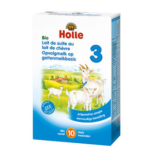 Holle Geitenmelk Opvolgmelk 3 (va 10 mnd) (biologisch)