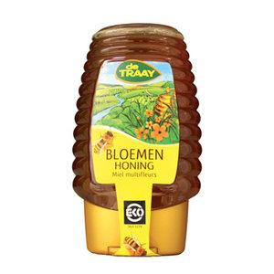 Bloemenhoning in Knijpfles 375 ml (biologisch)