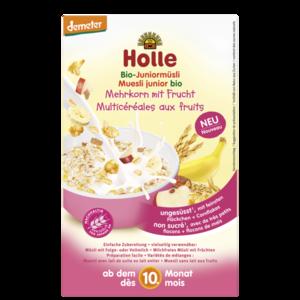 Holle Junior Muesli Granen en Fruit 250 gram (vanaf 10 maanden) (biologisch)