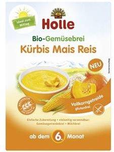 Holle Junior Groentepapje met Pompoen, Rijst en Mais 175 gram (vanaf 6 maanden) (biologisch)