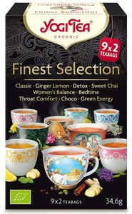 Yogi Tea Finest Selection (9 smaken) (biologisch)