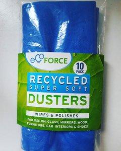 Gerecyclede Stofdoeken Ecoforce (10 stuks)