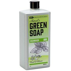 Marcels green soap afwasmiddel basilicum en vetiver