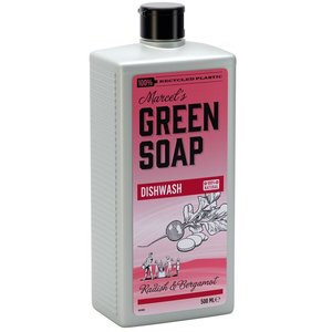 Marcels green soap afwasmiddel radijs en bergamot