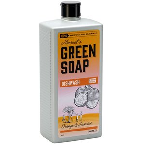 Marcels green soap afwasmiddel met sinaasappel en lavendel
