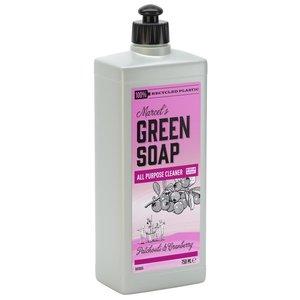 Allesreiniger Patchouli en Cranberry van Marcel's Green Soap