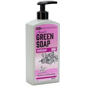 Handzeep Patchouli en Cranberry van Marcel's Green Soap