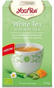 Yogi Tea White Tea en Aloe Vera