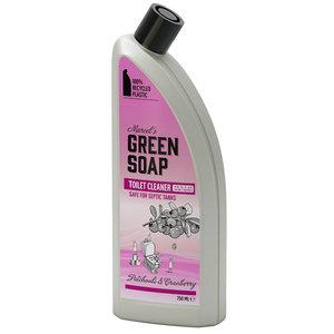 Toiletreiniger Patchouli en Cranberry 750 ml (Marcelss Green Soap)