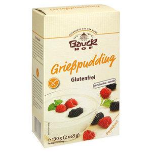 Glutenvrije Griesmeelpudding 2x 65 gram (biologisch)